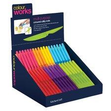 Colourworks 36 Piece Utility Knife Set