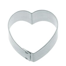 Cookie Cutter with Medium Heart Shaped (Set of 12)