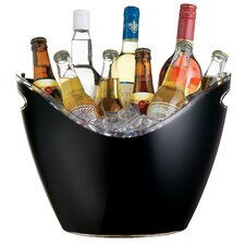 Bar Craft Mix It Black Acrylic Drinks Pail / Cooler