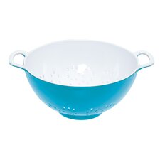 Colourworks Two Tone Melamine Colander in Blue