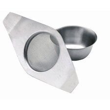 Le'Xpress Double Handled Tea Strainer