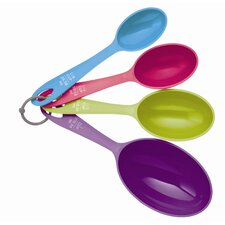 Colourworks Four Piece Large Measuring Spoon / Cup Set (Set of 4)