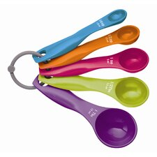 Colourworks Five Piece Measuring Spoon Set (Set of 6)