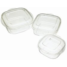 Microwave Casserole Three Piece Set