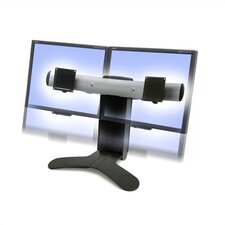 <strong>Ergotron</strong> LX Dual Display Lift LCD Desk Stand