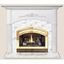 Light Flush Fireplace Mantel