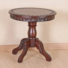 Windsor Hand Carved Wood End Table