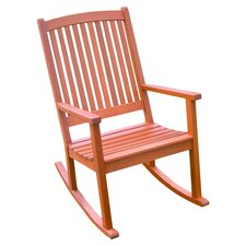 Royal Tahiti Large Balau Patio Rocker