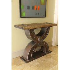 <strong>International Caravan</strong> Rustic Forge Console Table