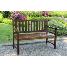 <strong>International Caravan</strong> Highland Acacia Wood Garden Bench