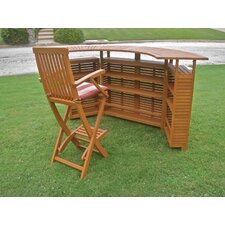 Royal Tahiti Outdoor Patio Sectional Bar Table