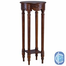 Windsor Hand Carved 2-Tier Telephone Table