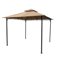"Charleston Outdoor Vented 8' 9"" H x 9' 10"" W x 9' 10"" D Gazebo"