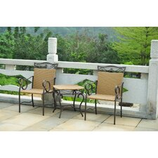 Valencia 3 Piece Patio Bistro Set