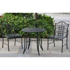 Mandalay 3 Piece Patio Bistro Set