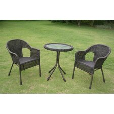 Chelsea 3 Piece Patio Bistro Set