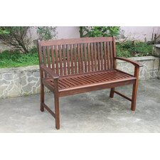 Acacia Hudson Park Bench