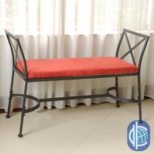 Mandalay Metal Entryway Bench