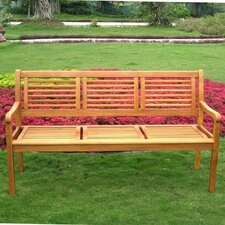 Royal Tahiti Wood Park Bench