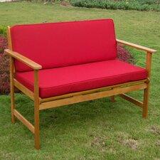 Royal Tahiti Wood Garden Bench