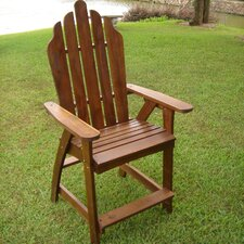Acacia Palmdale Adirondack Bar Chair