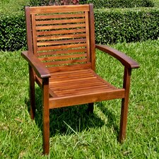 Acacia Palmdale Contemporary Patio Chairs (Set of 2)