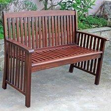 Acacia Palmdale Wood Park Bench