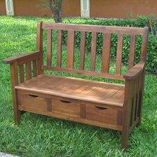 Wyndham Wood Garden Storage Bench