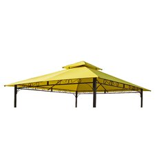 St. Kitts 3ft. H x 10ft. W x 10ft. D Replacement Canopy