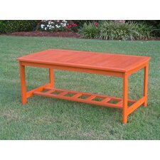 <strong>International Caravan</strong> Royal Tahiti Outdoor 2-Tier Patio Table