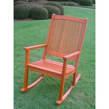 Belmont Outdoor Wood Porch Rocking Chair
