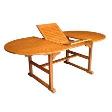 Royal Tahiti Heavy-Duty Extendable Wood Dining Table