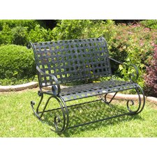 Mandalay Wrought Iron Garden Bench