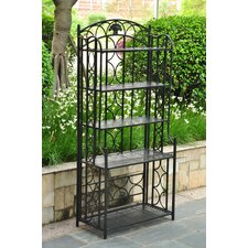 Charleston 5-Tier Indoor/ Outdoor Bakers Rack
