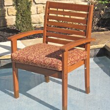 <strong>International Caravan</strong> Royal Tahiti Oslo Dining Arm Chair