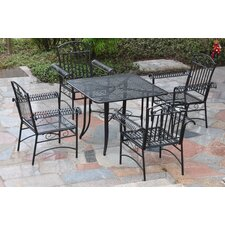 International Caravan Tropico 5-Piece Patio Dining Set