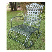 Wrought Iron Milano Patio Rocker