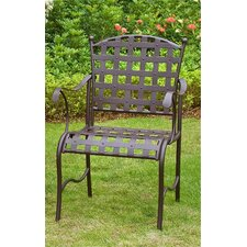 <strong>International Caravan</strong> Santa Fe Dining Arm Chair (Set of 2)