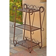 <strong>International Caravan</strong> Santa Fe Rectangular Plant Stand