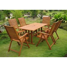 Royal Tahiti Granada 7 Piece Dining Set
