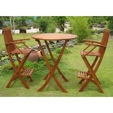 <strong>International Caravan</strong> Carmona 3 Piece Bistro Set