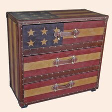 Americana 3 Drawer Chest