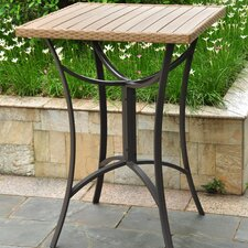 <strong>International Caravan</strong> Barcelona Wicker Resin/Aluminum Patio Table