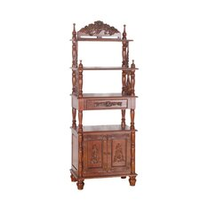 "<strong>International Caravan</strong> Victorian 63"" Bookcase"