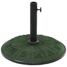 Free Standing Resin Clock Face Umbrella Base