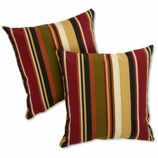 Jumbo Outdoor Throw Pillow (Set of 2)