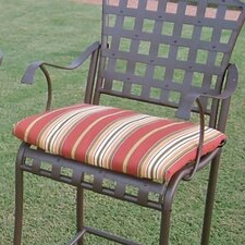 Outdoor Bistro Chair Cushion (Set of 2)