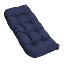 All Weather UV-Resistant U-Shaped Patio Loveseat Cushion