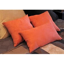 <strong>Blazing Needles</strong> Micro Suede Bed Spread Pillow / Decorative Pillow (Set of 3)