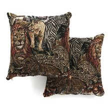 "18"" Tapestry Throw Pillow (Set of 2)"